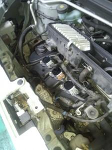 ダイハツムーブコンテのエンジン不調部品交換