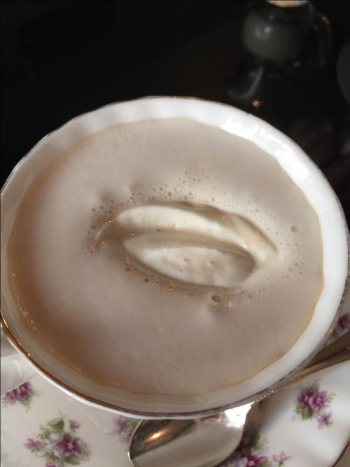 太宰府天満宮風見鶏ウインナーコーヒー