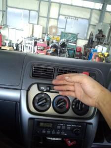 車のエアコン風が出ない