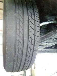 タイヤ偏磨耗