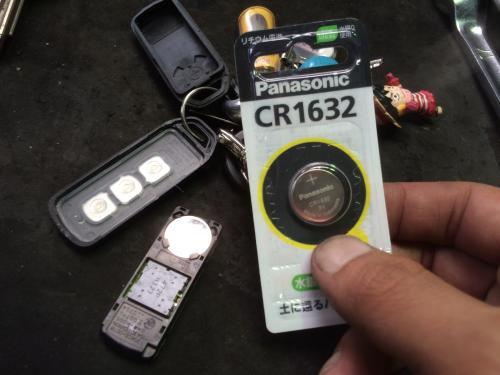 電池交換作業