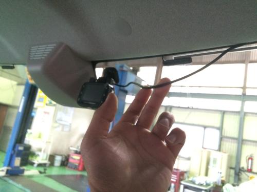ドライブレコーダー配線
