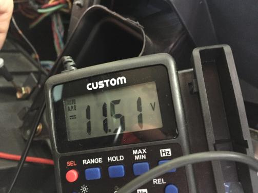 キーON時電圧