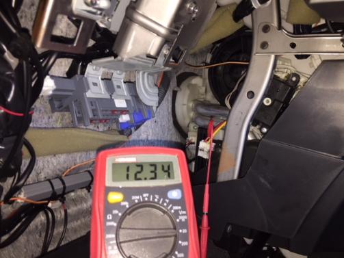 ブロア電源電圧点検
